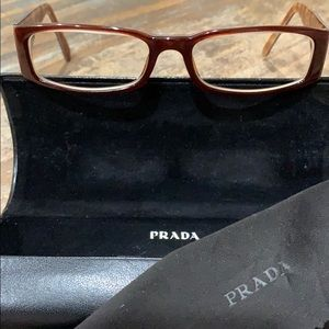 Prada VPR 10F 701-101 Glasses